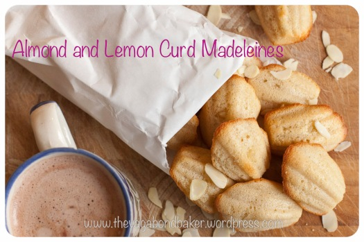 Almond and Lemon Curd Madeleines | Vagabond Baker