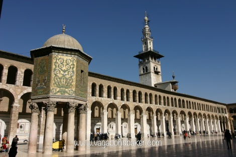 The beautiful Umayyad Mosque