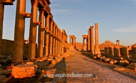 Palmyra at sunrise