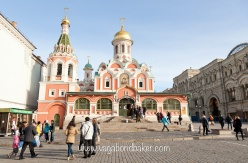 Kazan Cathedral, Red Square. Moscow