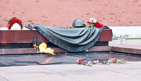 Tomb of the Unknown Soldier. Moscow