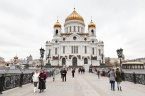 Cathedral of Christ the Saviour. Moscow