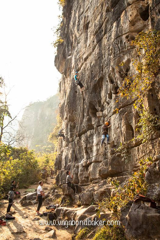 Climbing Yangshuo